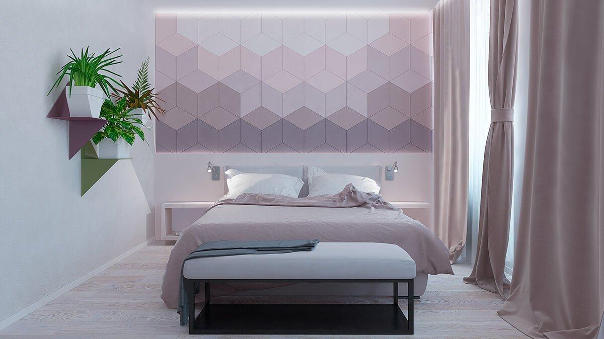 phòng ngủ master hiện đại diện tích nhỏ