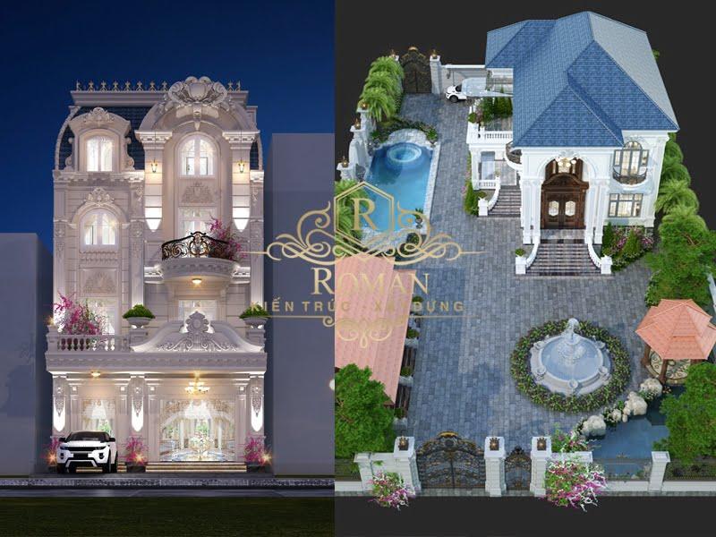 so sánh biệt thự vườn với biệt thự phố