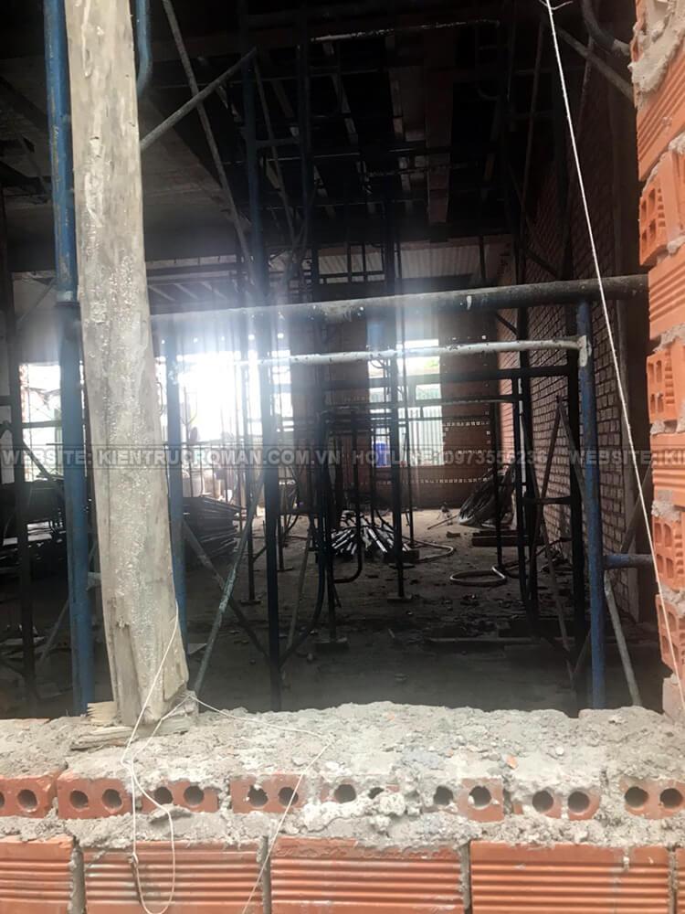 thi công biệt thự 2 tầng tân cổ điển 12