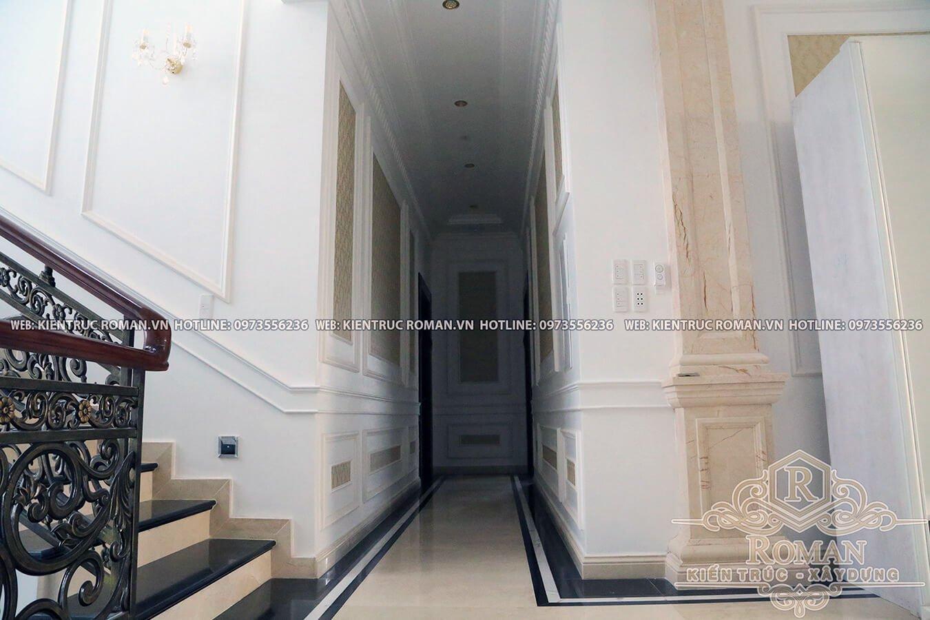 thi công biệt thự kiến trúc tân cổ điển 16