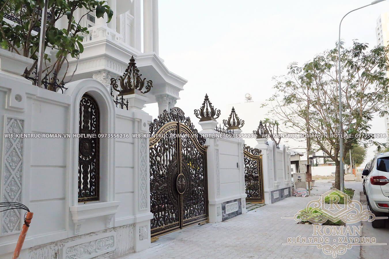 thi công biệt thự kiến trúc tân cổ điển 5