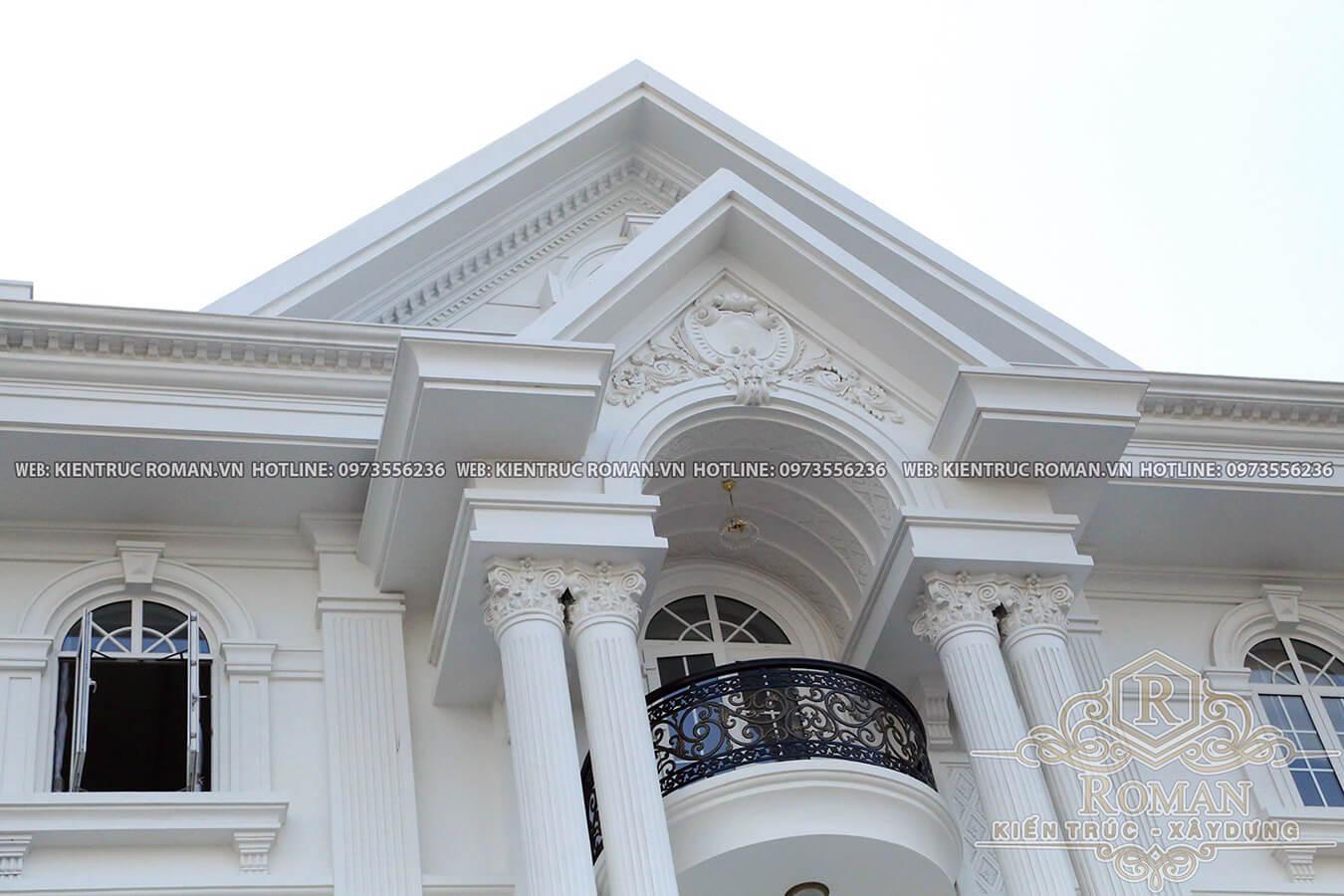 thi công biệt thự kiến trúc tân cổ điển 9