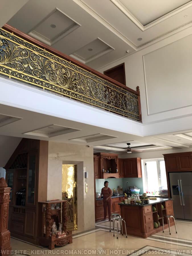 thi công hoàn thành thiết kế biệt thự kiểu pháp tại quận 9 12