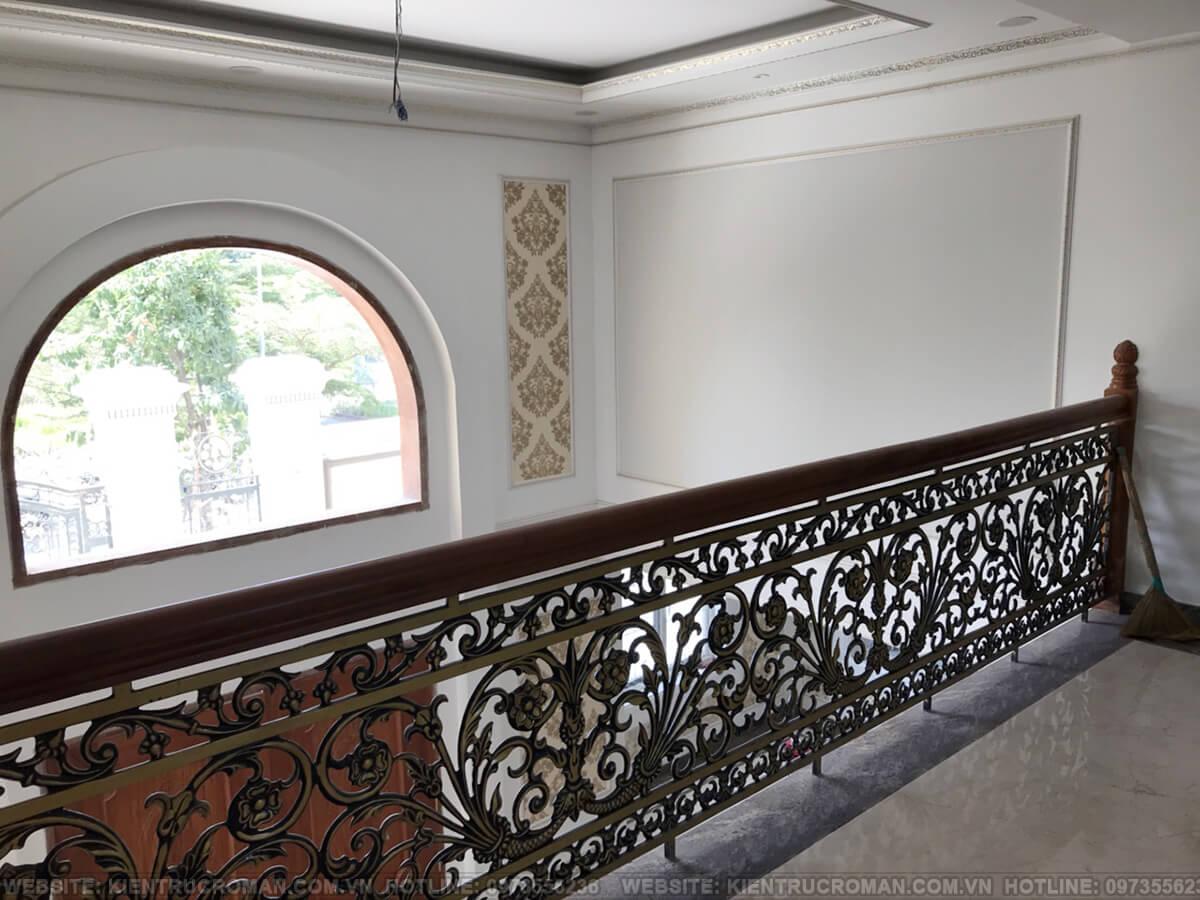 thi công hoàn thành thiết kế biệt thự kiểu pháp tại quận 9 14