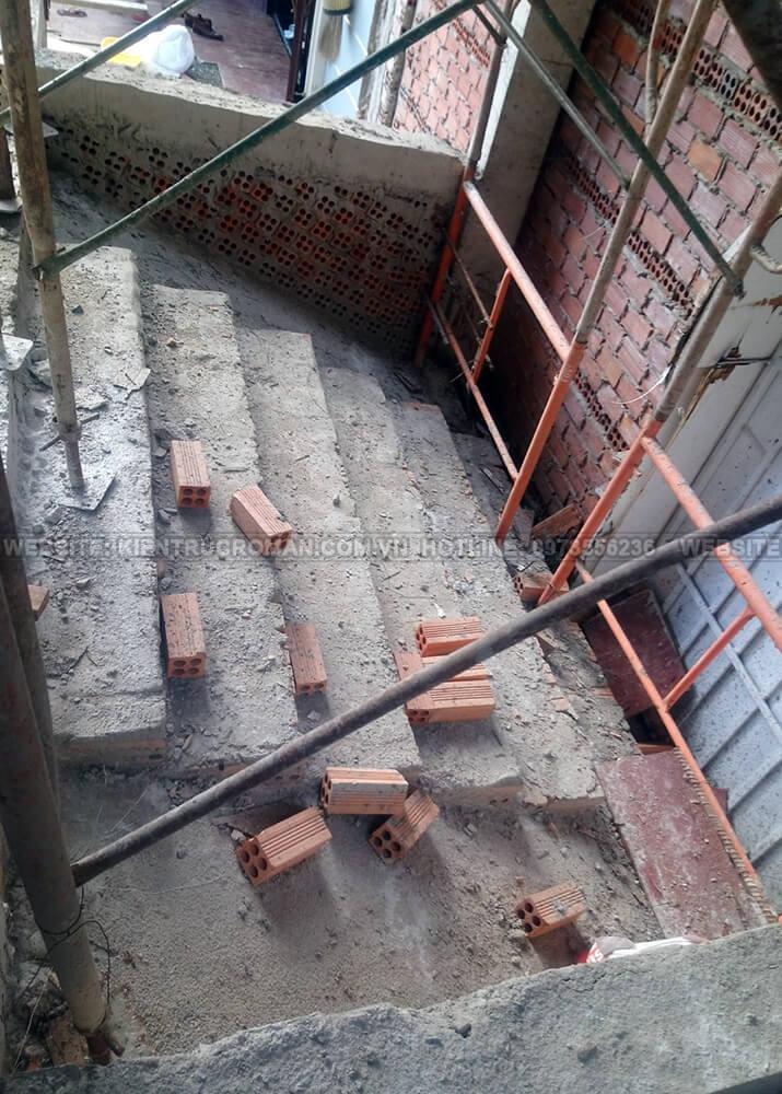 thi công kiến trúc biệt thự pháp 9