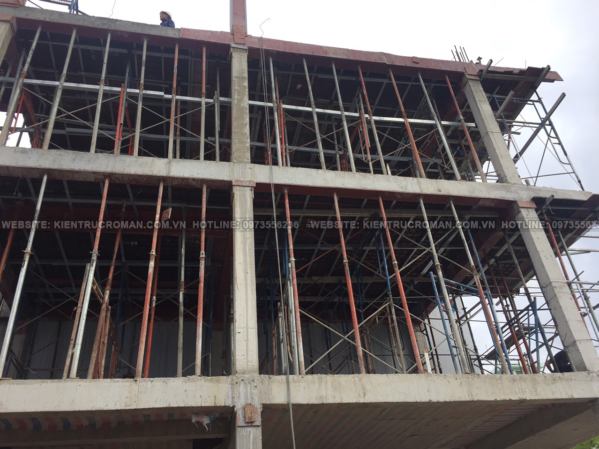 thi công thiết kế nhà ống 3 tầng 4x15 tại bình dương 11