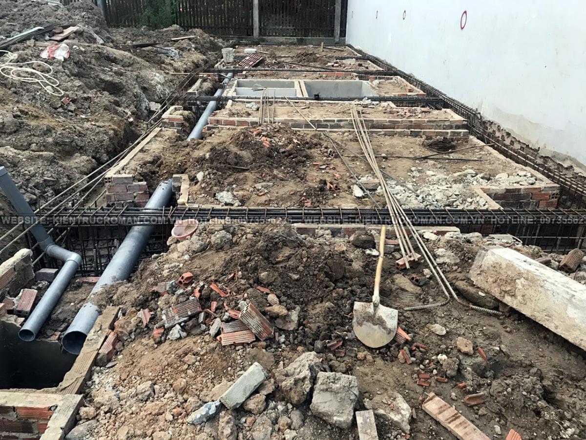thi công thiết kế nhà ống 3 tầng 4x15 tại bình dương 5