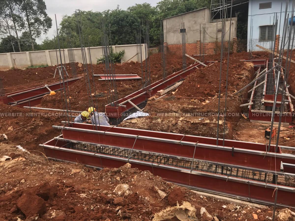 thi công xây dựng biệt thự nhà vườn có hồ bơi