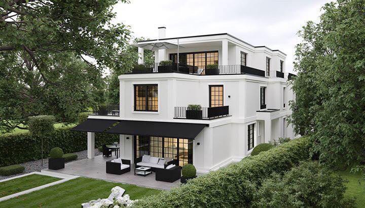 mẫu thiết kế biệt thự 2 tầng 1 tum đẹp được yêu thích 4