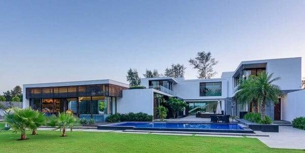 thiết kế biệt thự có hồ bơi cần chú ý đến vấn đế gì 1