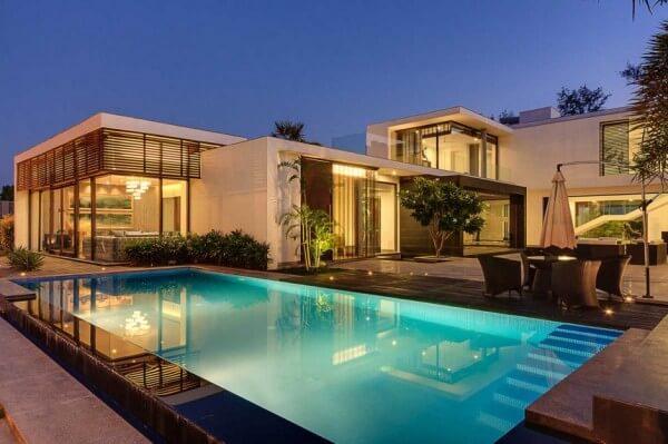 thiết kế biệt thự có hồ bơi cần chú ý đến vấn đế gì 2