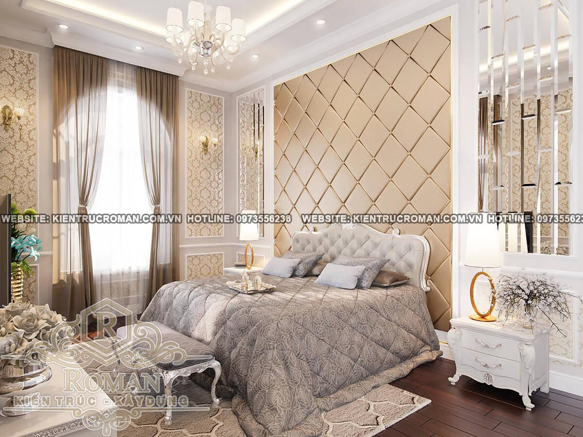 phòng ngủ con trai thiết kế biệt thự pháp