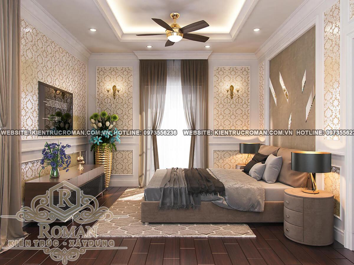 phòng ngủ thiết kế biệt thự pháp