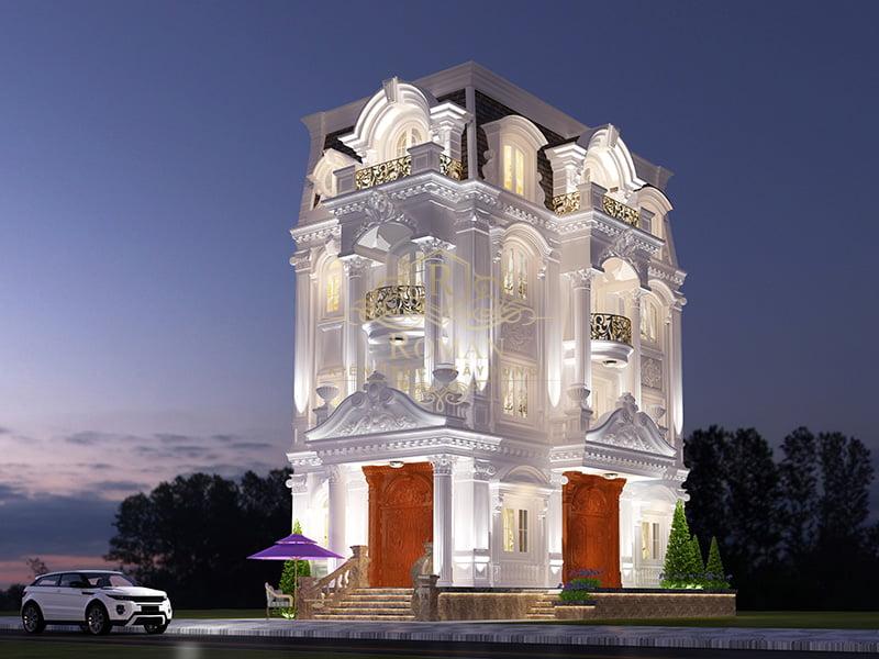 thiết kế biệt thự nhỏ sang trọng tại đồng nai