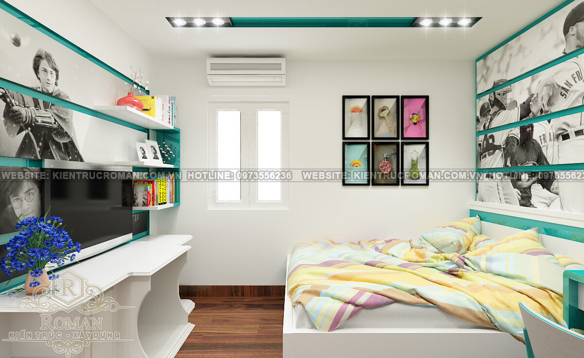 Biệt thự vườn 1 tầng 3 phòng ngủ kiểu cổ điển tại Đồng Nai 7