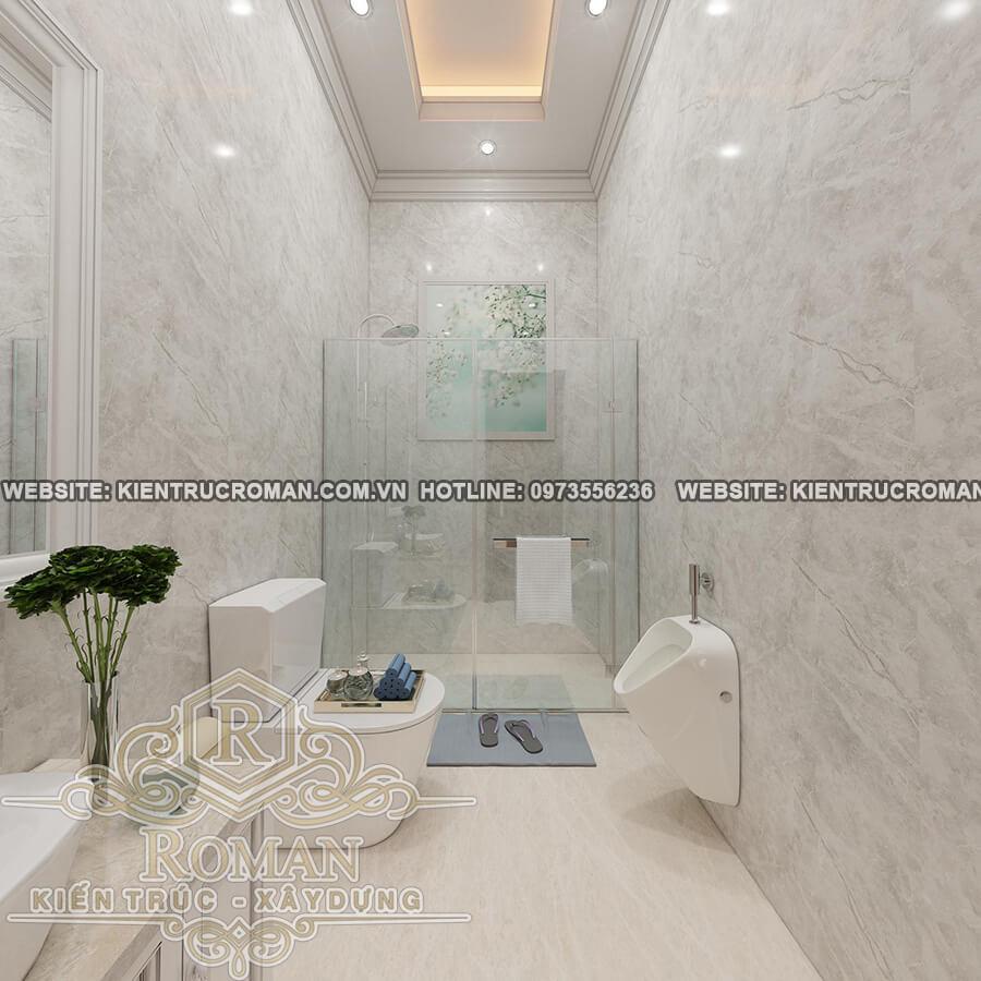 phòng tắm thiết kế biệt thự vườn 2 tầng