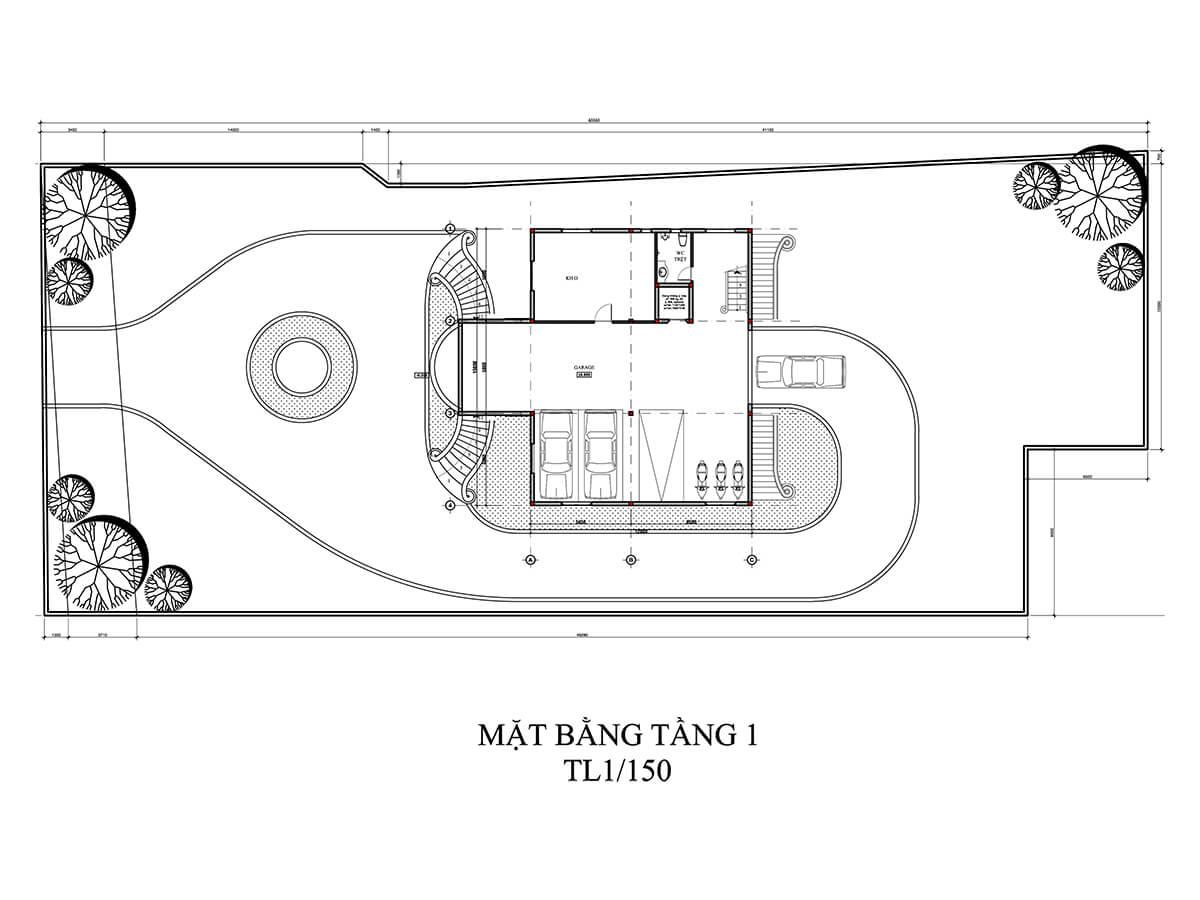 thiết kế biệt thự vườn 5