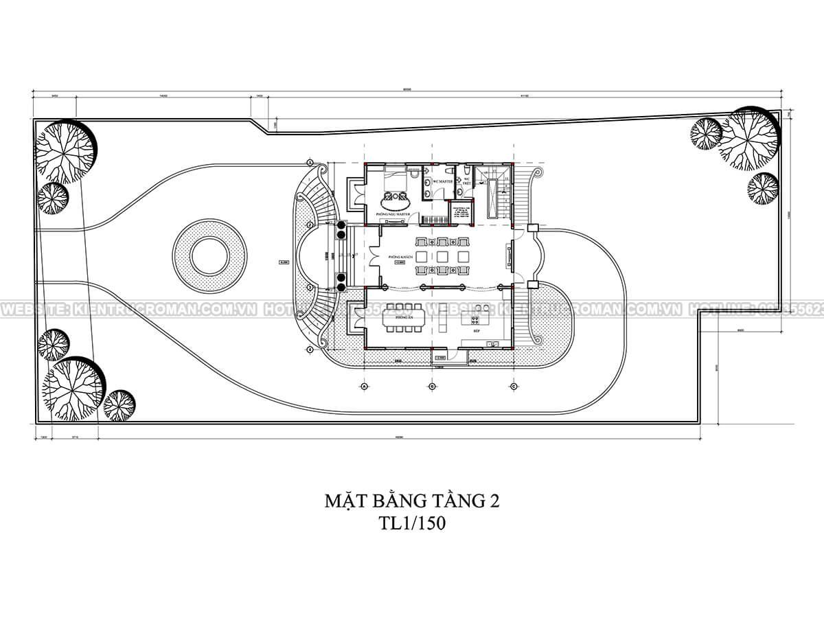 thiết kế biệt thự vườn 6