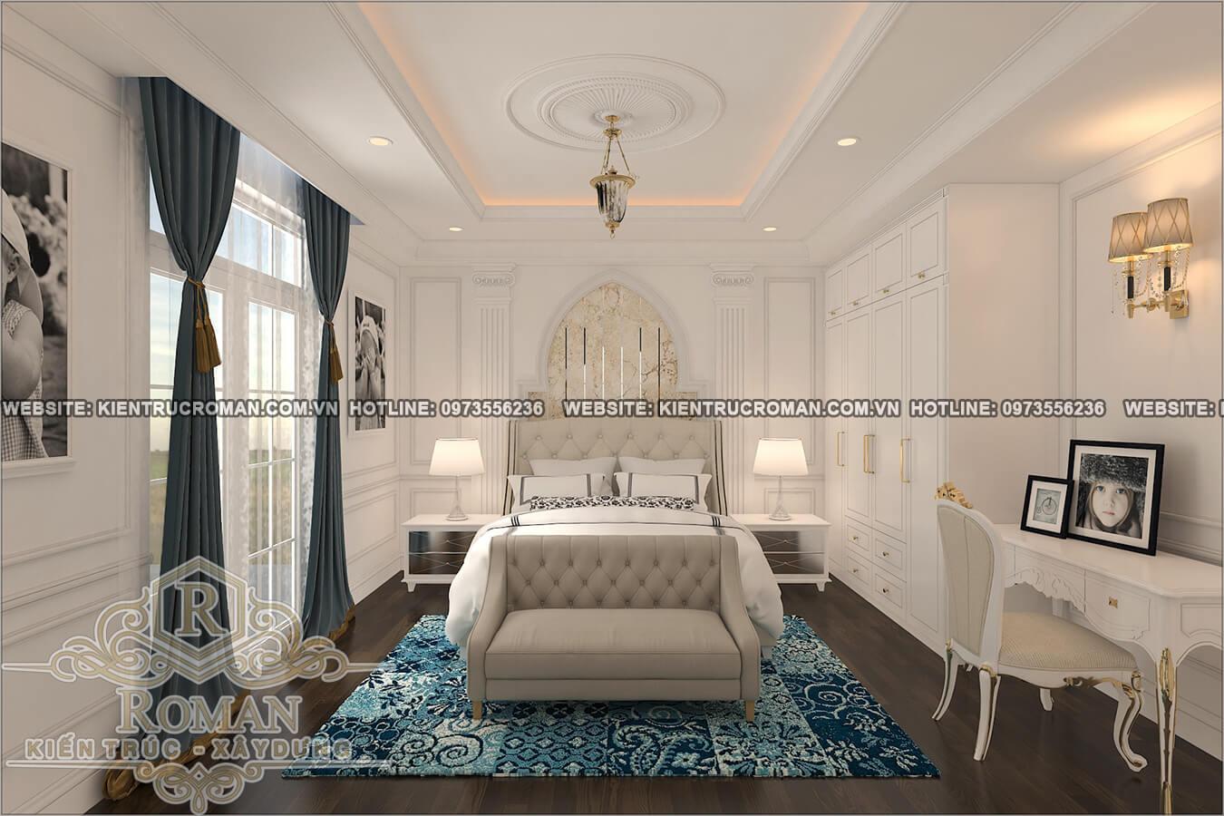 phòng ngủ bé trai thiết kế cải tạo biệt thự cổ điển
