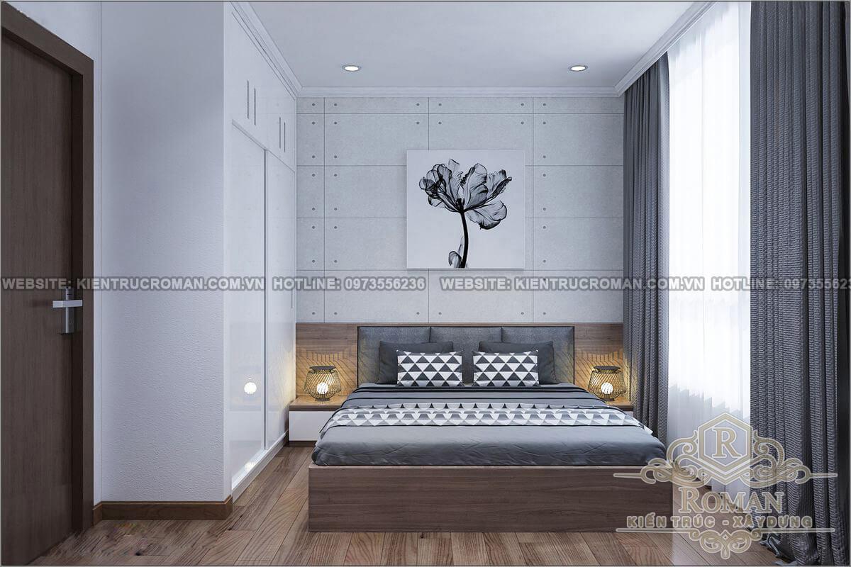 Phòng ngủ các con thiết kế căn hộ 2 phòng ngủ
