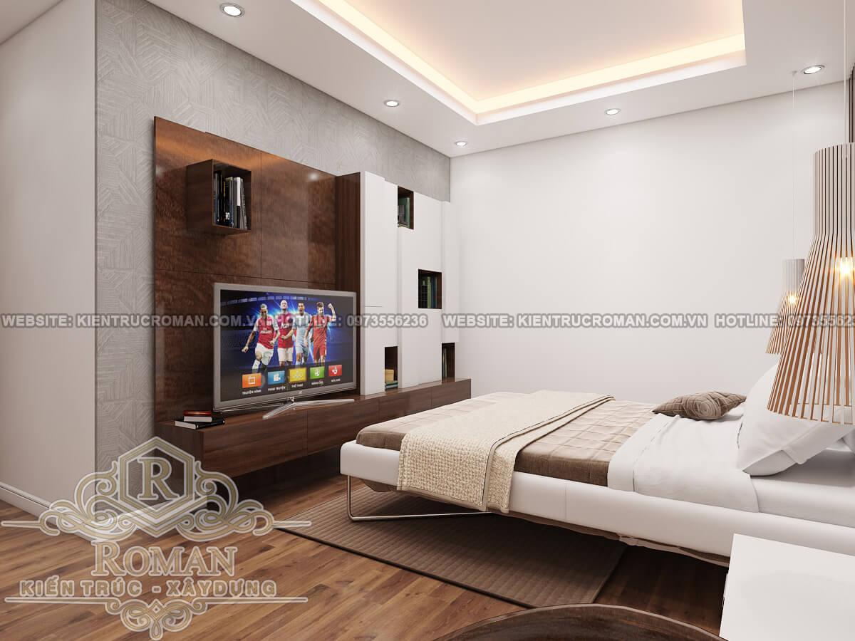 phòng ngủ các con thiết kế căn hộ chung cư 50m2