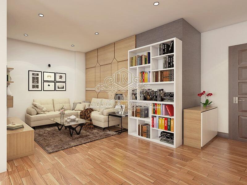 thiết kế căn hộ chung cư 60m2