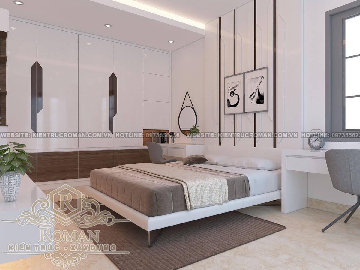 phòng ngủ thiết kế chung cư 3 phòng ngủ