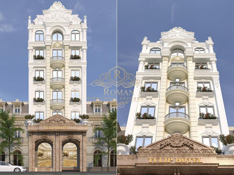Thiết kế khách sạn 3 sao cổ điển đẹp nhất tại Tân Bình