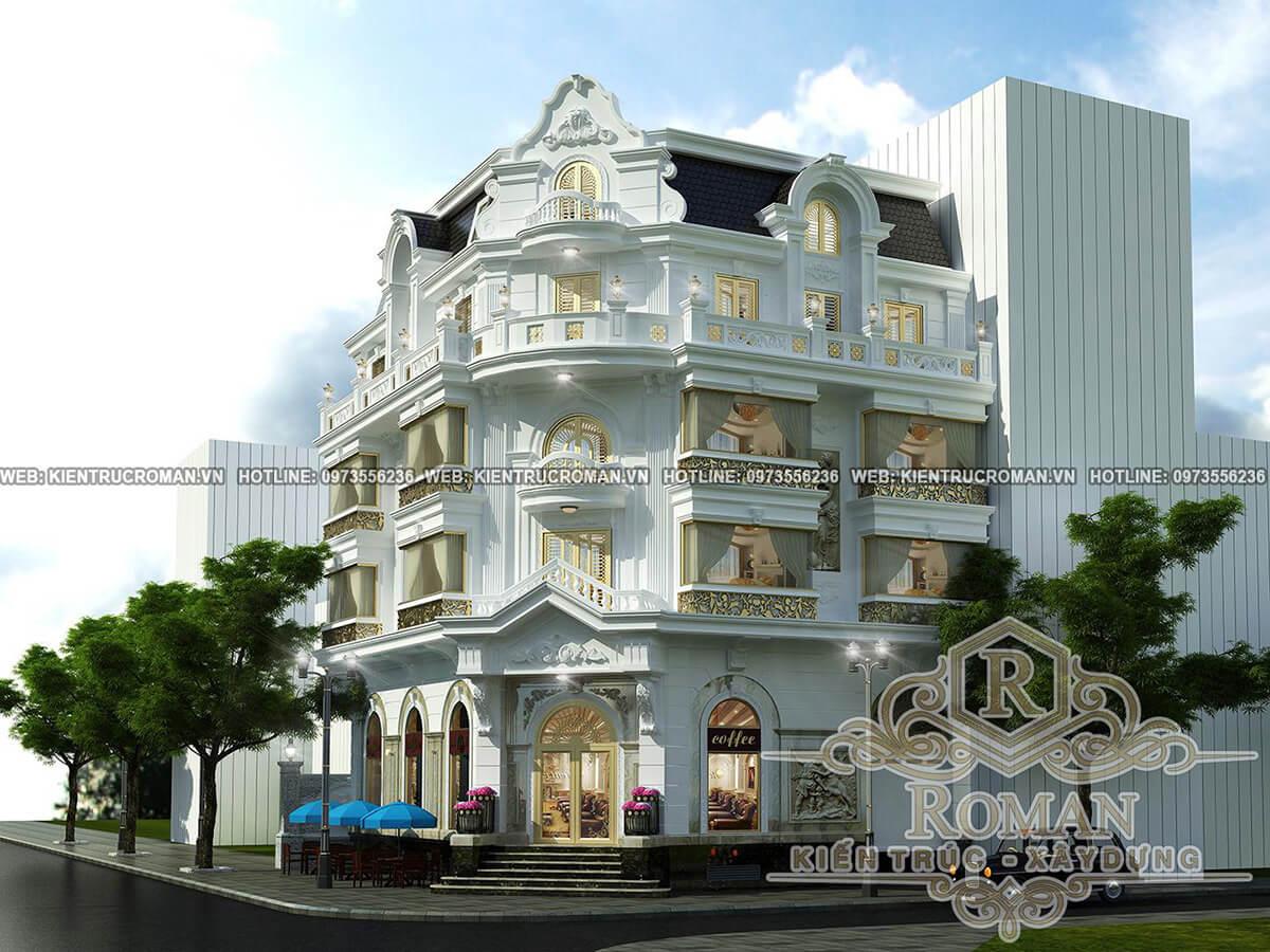 thiết kế khách sạn tân cổ điển đẳng cấp