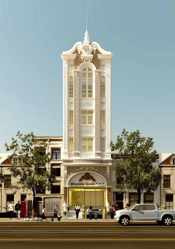 Trào lưu khách sạn tân cổ điển mang phong cách kiến trúc độc đáo 1