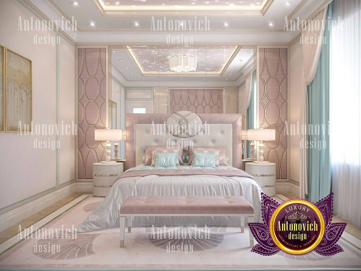 thiết kế lâu đài dinh thự đẹp phòng ngủ