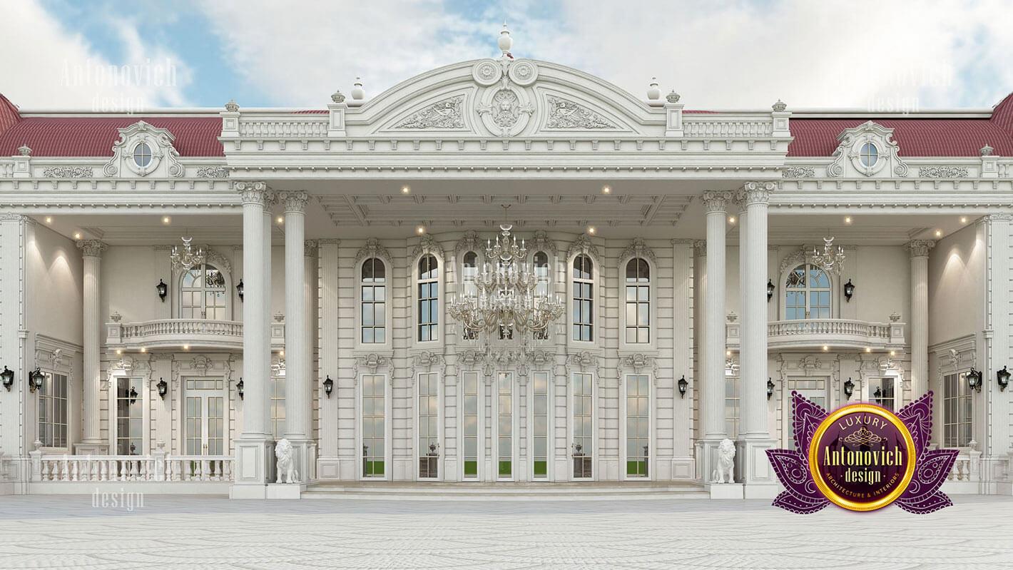 thiết kế lâu đài dinh thự đẹp