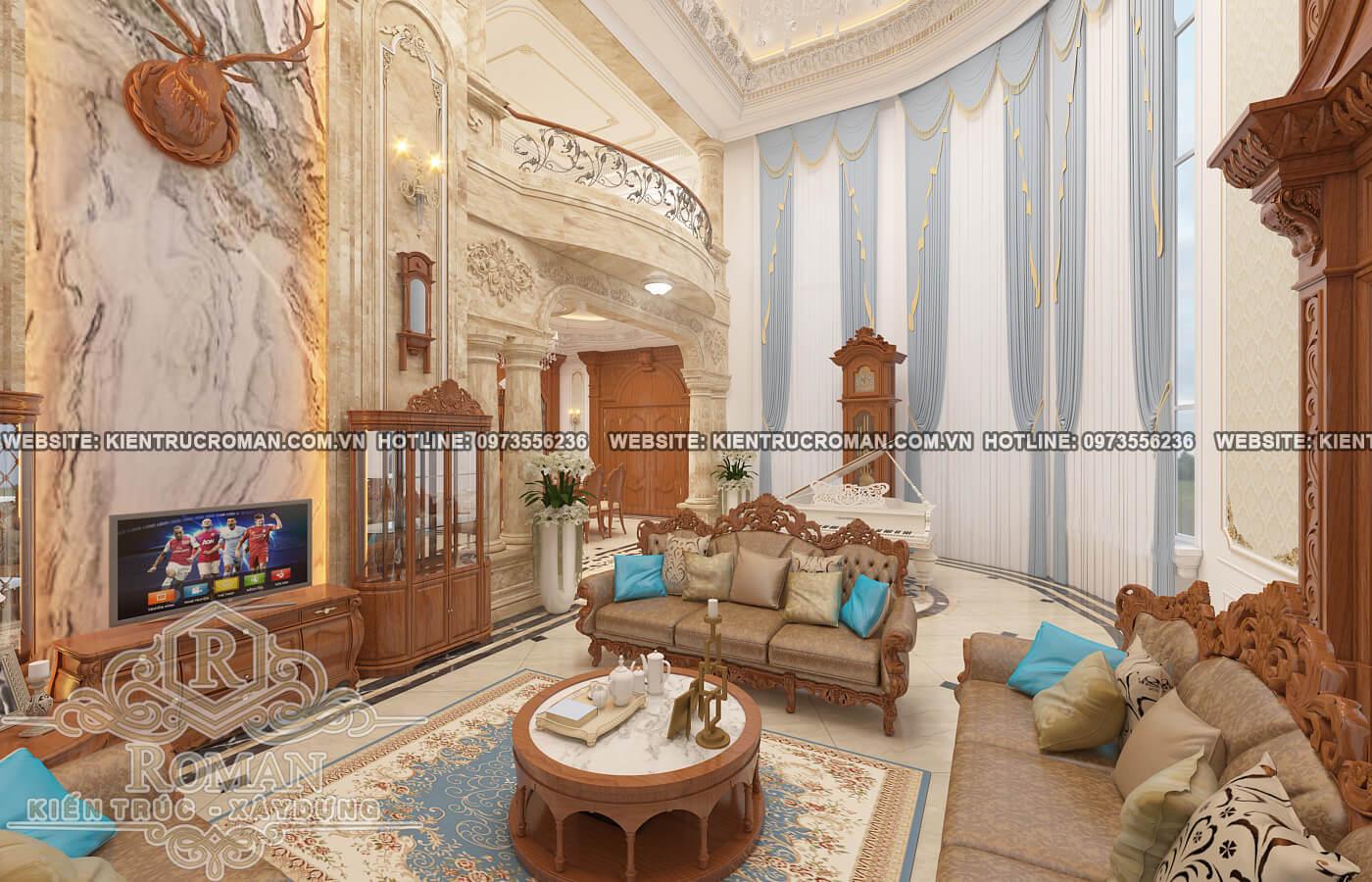 thiết kế nội thất biệt thự đẹp 10