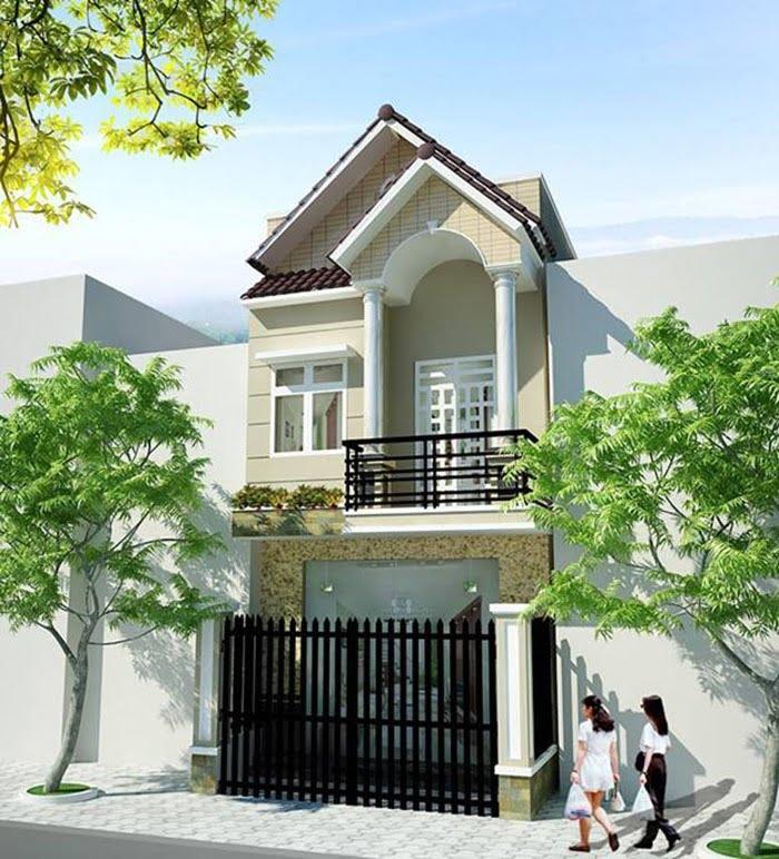 thiết kế mẫu nhà 2 tầng đẹp được yêu thích 2018 2