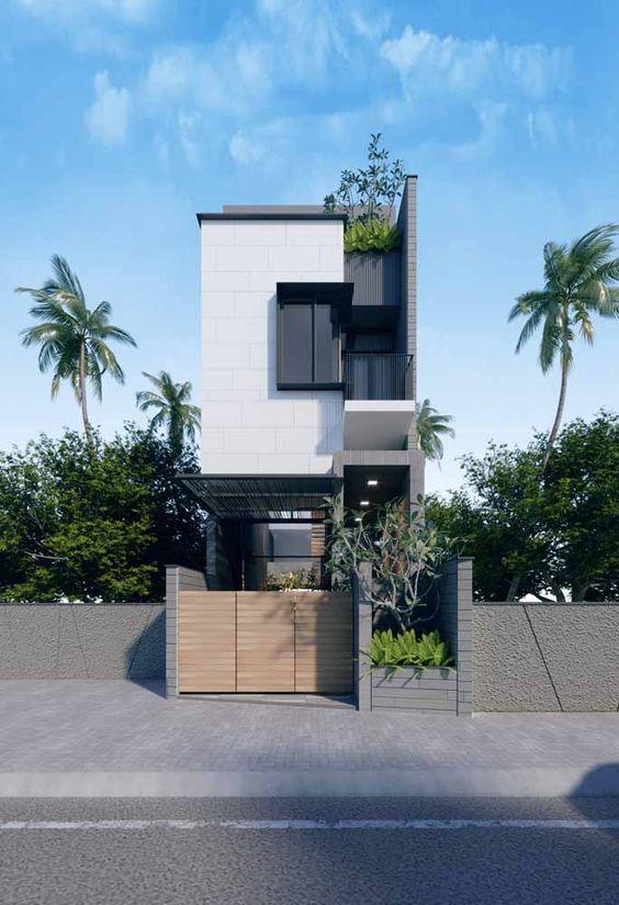 thiết kế nhà 2 tầng có gác lửng 16