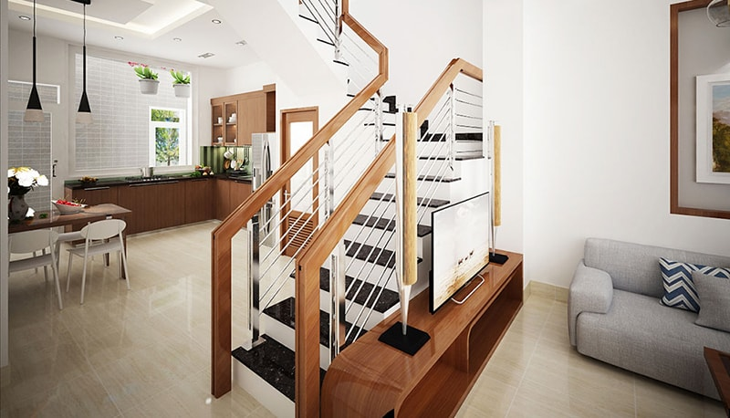 thiết kế nhà 40m2 3 tầng 15