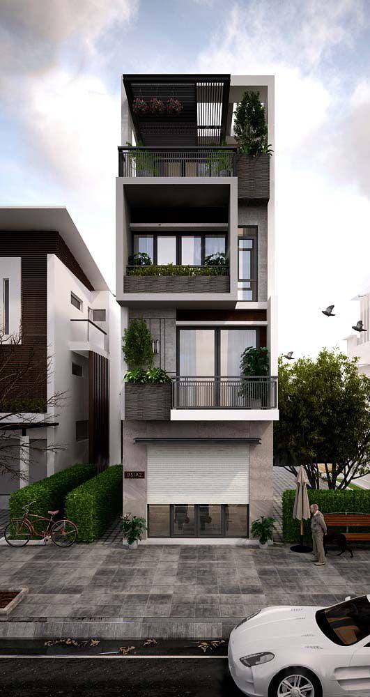 thiết kế nhà 40m2 3 tầng 7