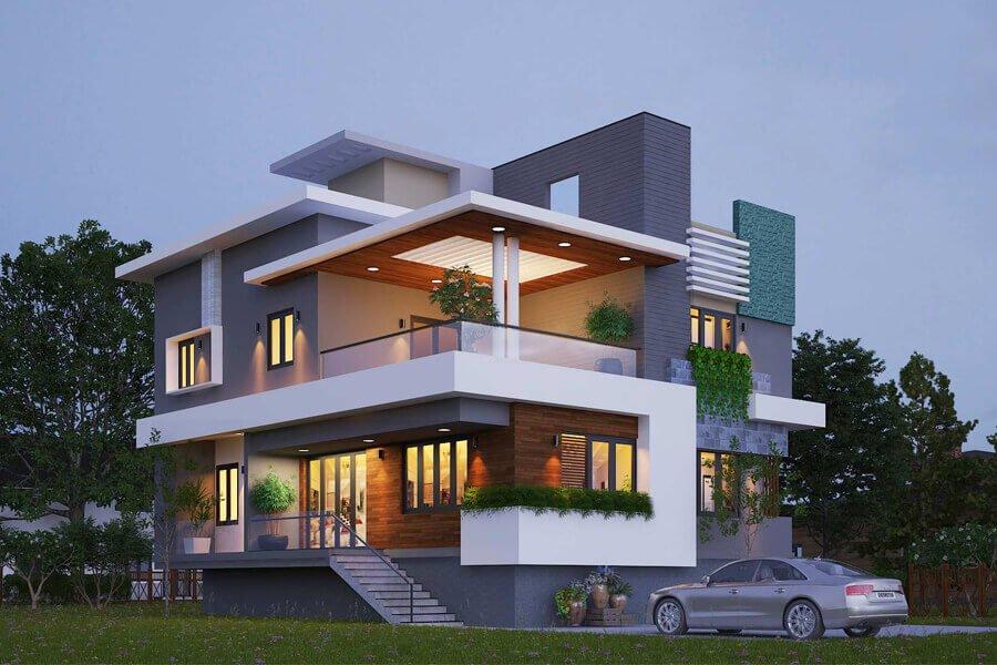 các mẫu thiết kế nhà biệt thự đẹp nhất Việt Nam 7