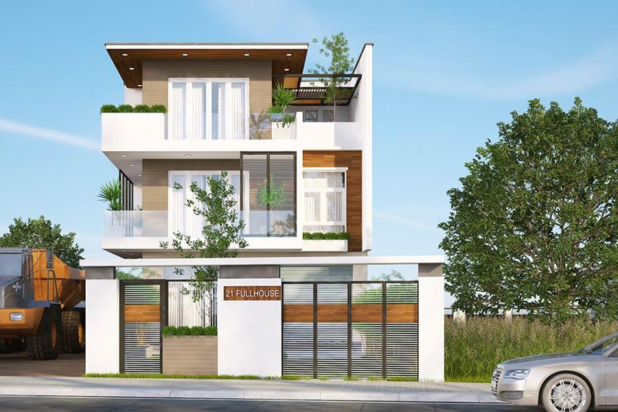 các mẫu thiết kế nhà biệt thự đẹp nhất Việt Nam 10