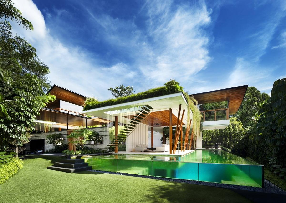 các mẫu thiết kế nhà biệt thự đẹp nhất Việt Nam 8