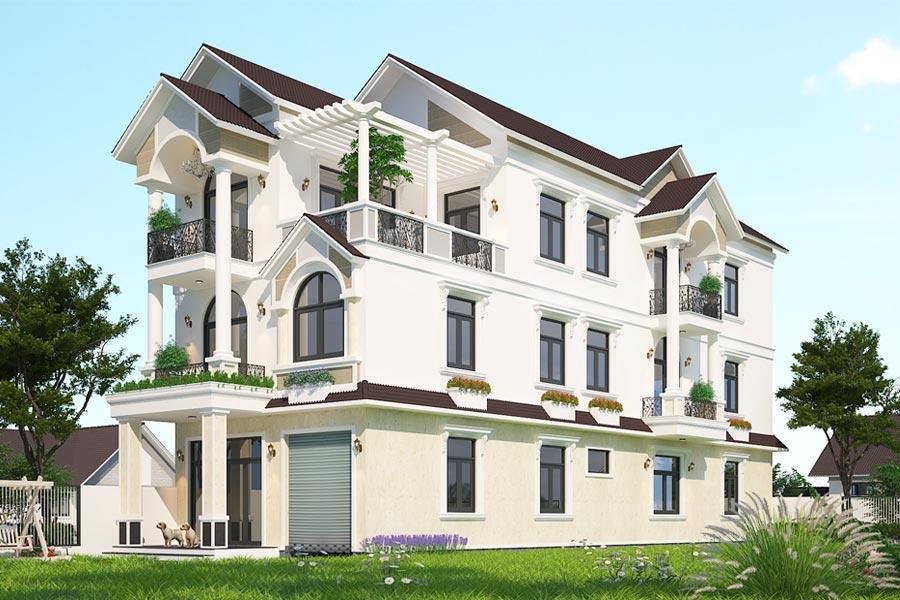các mẫu thiết kế nhà biệt thự đẹp nhất Việt Nam 13