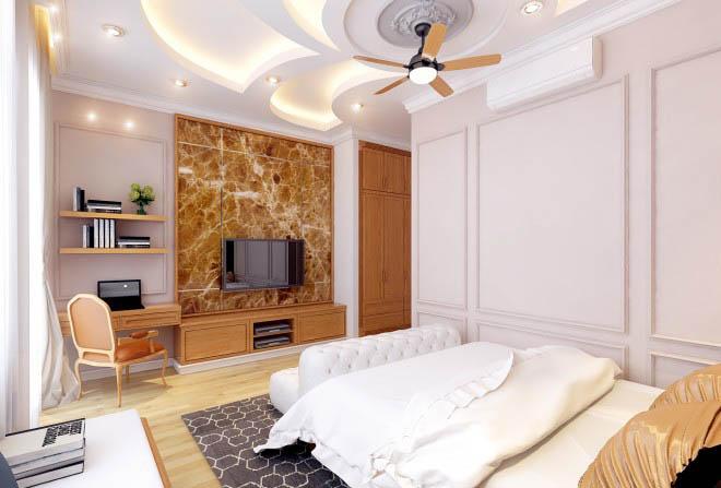 Thiết kế nhà có tầng hầm 5x20 3 tầng đẹp 11