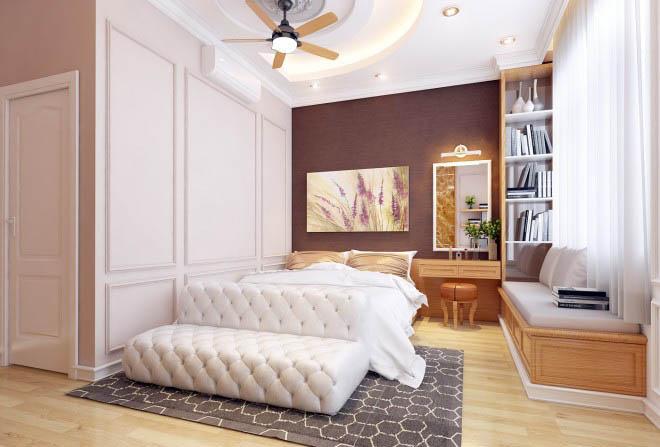 Thiết kế nhà có tầng hầm 5x20 3 tầng đẹp 12