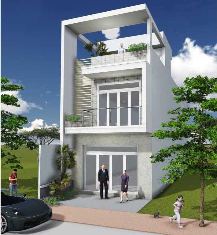 mẫu thiết kế nhà đẹp 5x15 1 trệt 1 lầu đẹp 4