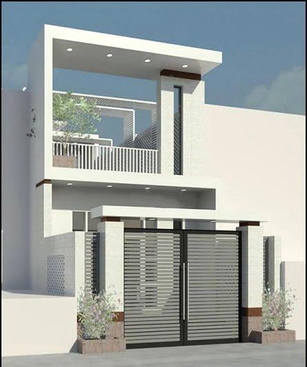 mẫu thiết kế nhà đẹp 5x15 1 trệt 1 lầu đẹp 7