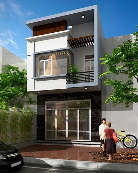 mẫu thiết kế nhà đẹp 5x15 1 trệt 1 lầu đẹp 9