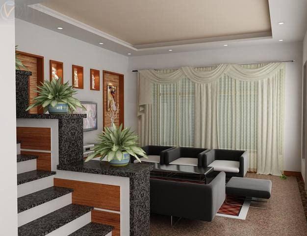 phòng khách thiết kế nhà đẹp 5x15 1 trệt 1 lầu