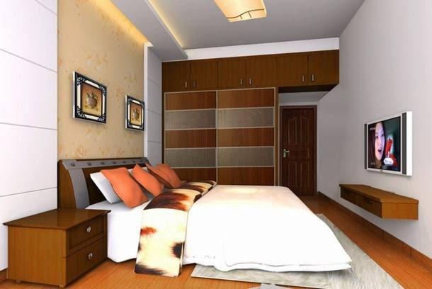 phòng ngủ thiết kế nhà đẹp 5x15 1 trệt 1 lầu