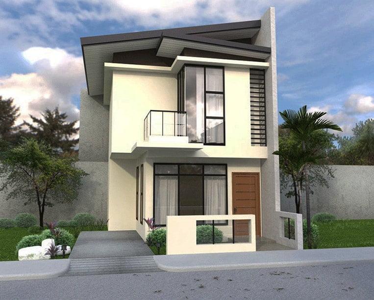 mẫu thiết kế nhà đẹp 5x15 1 trệt 1 lầu đẹp 1