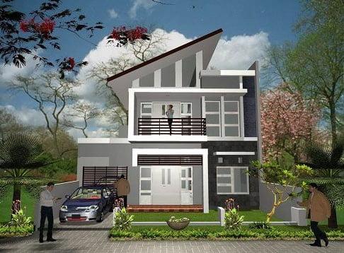 mẫu thiết kế nhà đẹp 5x15 1 trệt 1 lầu đẹp 2